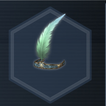 Feather crown Con