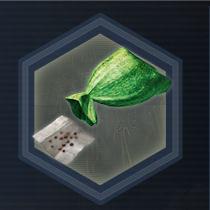 Green seed bag