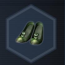 Blue Slippers L