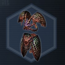 Crocodile Leather Armor L