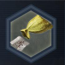 Yellow seed bag