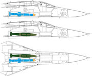 F-111 internal weapons carriage