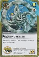 Gigano garanzu maruss card