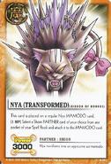Nya transformed card