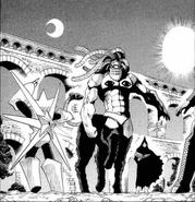 Pamoon vs. Goren of the Stone (manga)