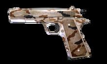 W s pistol m1911a1 Desert Camo 측면