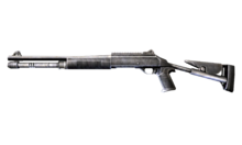 W m shotgun benelli m1014 측면