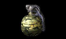 W t throwweapon m67 custom 측면