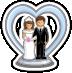 File:Bridal Wedding Cake Topper-icon.png