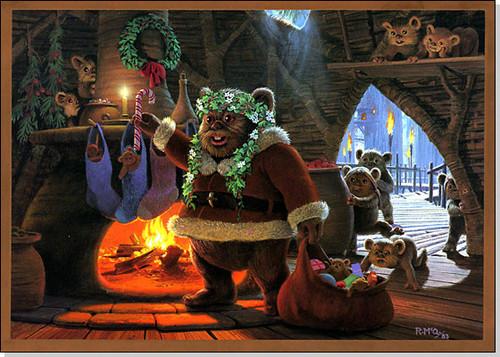 File:Christmas,christmascard,ewok,lucasfilm,santaclaus,starwars-e451b8a0e5a04ea4e9720daf65aae5a8 h.jpg