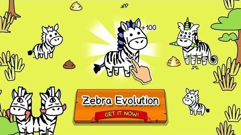 Zebra Evolution - Clicker Game for iPhone and Android