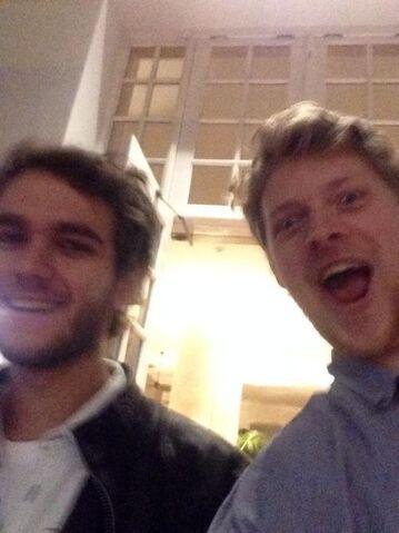 File:Zedd and Gabe Damast.jpg