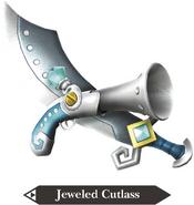Hyrule Warriors Legends Cutlass Jeweled Cutlass (Render)