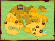 Mercay Island Map