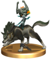 Super Smash Bros. Brawl Trophies Wolf Link (Render).png