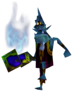 Majora's Mask Mini-Boss Wizrobe (Render)