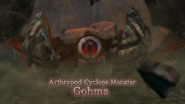 Hyrule Warriors Arthropod Cyclops Monster Gohma Battle Intro (Cutscene)