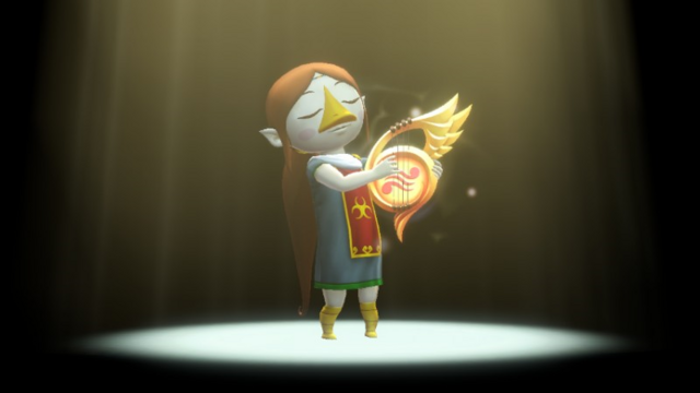 File:Hyrule Warriors Sage of Earth Medli Din's Harp (Victory Cutscene).png