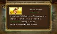Hyrule Warriors Legends Rito Harp Din's Harp + (Level 4 Rito Harp)