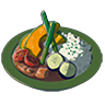 Breath of the Wild Food Dish (Curry) Vegetable Curry (Icon).png