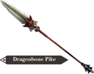 Hyrule Warriors Dragon Spear Dragonbone Pike (Render)