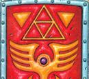 Roter Schild