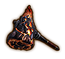 File:Hyrule Warriors Hammer Igneous Hammer (Icon).png