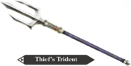 Hyrule Warriors Legends Trident Thief's Trident (Render)