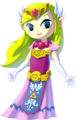 The Wind Waker HD Artwork Princess Zelda (Official Artwork).png