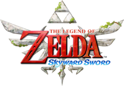 O logo de Skyward Sword