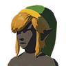 Breath of the Wild amiibo Rune Items (Classic Hero's Clothes Armor Set) Cap of the Hero (Icon).png