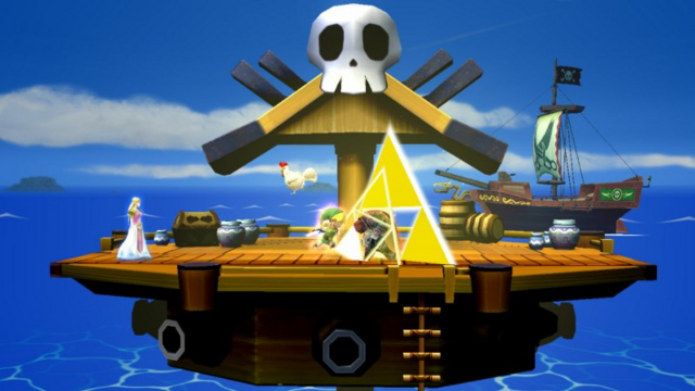 File:Super Smash Bros. for Wii U Pirate Ship (The Wind Waker) Omega Form (Pirate Ship).png