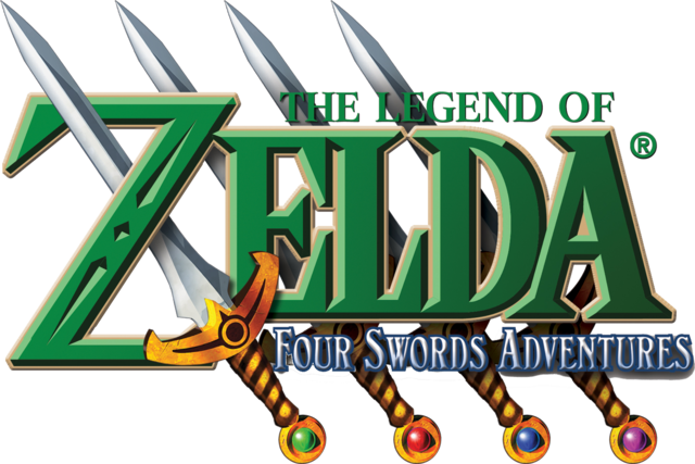 File:The Legend of Zelda - Four Swords Adventures (logo).png