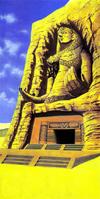 Desert Colossus Artwork
