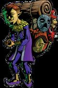 Happy Mask Salesman Artwork (Majora's Mask)
