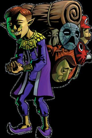 File:Happy Mask Salesman Artwork (Majora's Mask).png