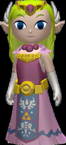 File:The Wind Waker Figurine Princess Zelda (Render).png