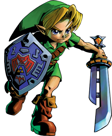 File:Link Artwork 3 (Majora's Mask).png