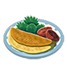 File:Breath of the Wild Food Dish (Omelets) Omelet (Icon).png