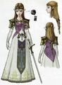 Twilight Princess Artwork Princess Zelda (Concept Art).png