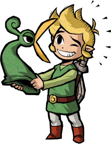File:Link Artwork 1 (The Minish Cap).png