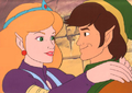 Link and Zelda (The Legend of Zelda animated series).png