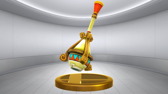 File:Super Smash Bros. for Wii U Gust Bellows (Skyward Sword) Gust Bellows (Trophy).png