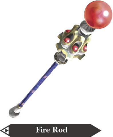 File:Hyrule Warriors Magic Rod Fire Rod (Render).png