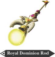 Hyrule Warriors Dominion Rod Royal Dominion Rod (Render)