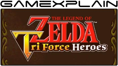 Zelda- Tri Force Heroes - Opening & Title Screen