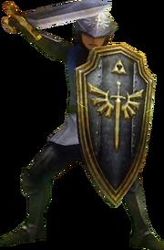 Hyrule Warriors Hyrulean Forces Hylian Captain (Render)