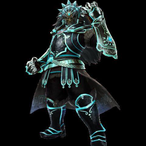 File:Hyrule Warriors Legends Ganondorf Standard Armor (Phantom Ganon Recolor - Master Wind Waker DLC).png