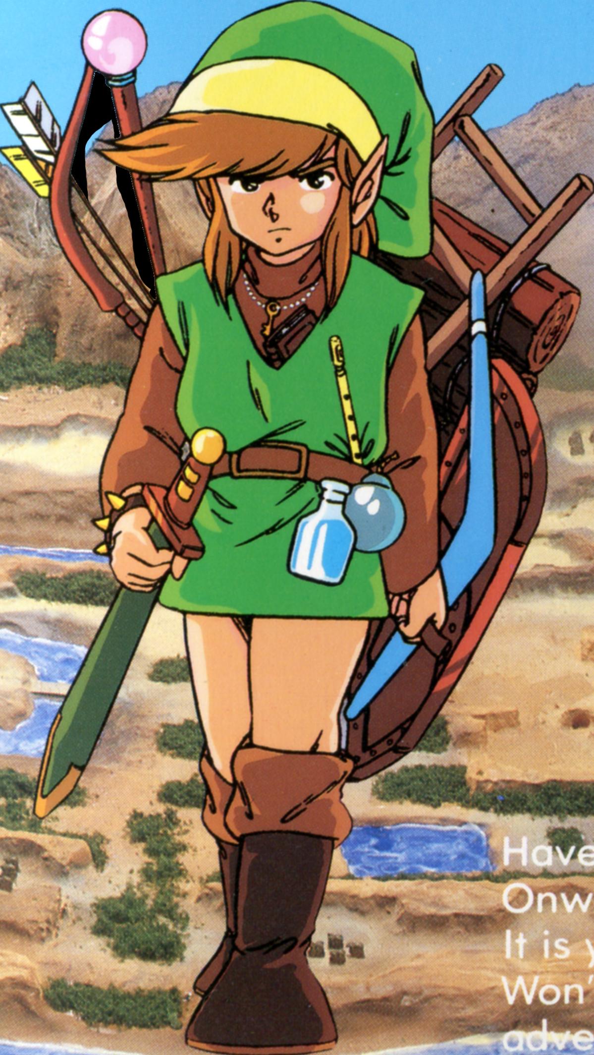 Personnages dans the legend of zelda zeldawiki fandom - Link dans zelda ...