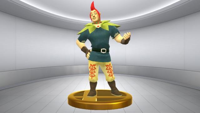 File:Super Smash Bros. for Wii U Groose (Skyward Sword) Groose (Trophy).png